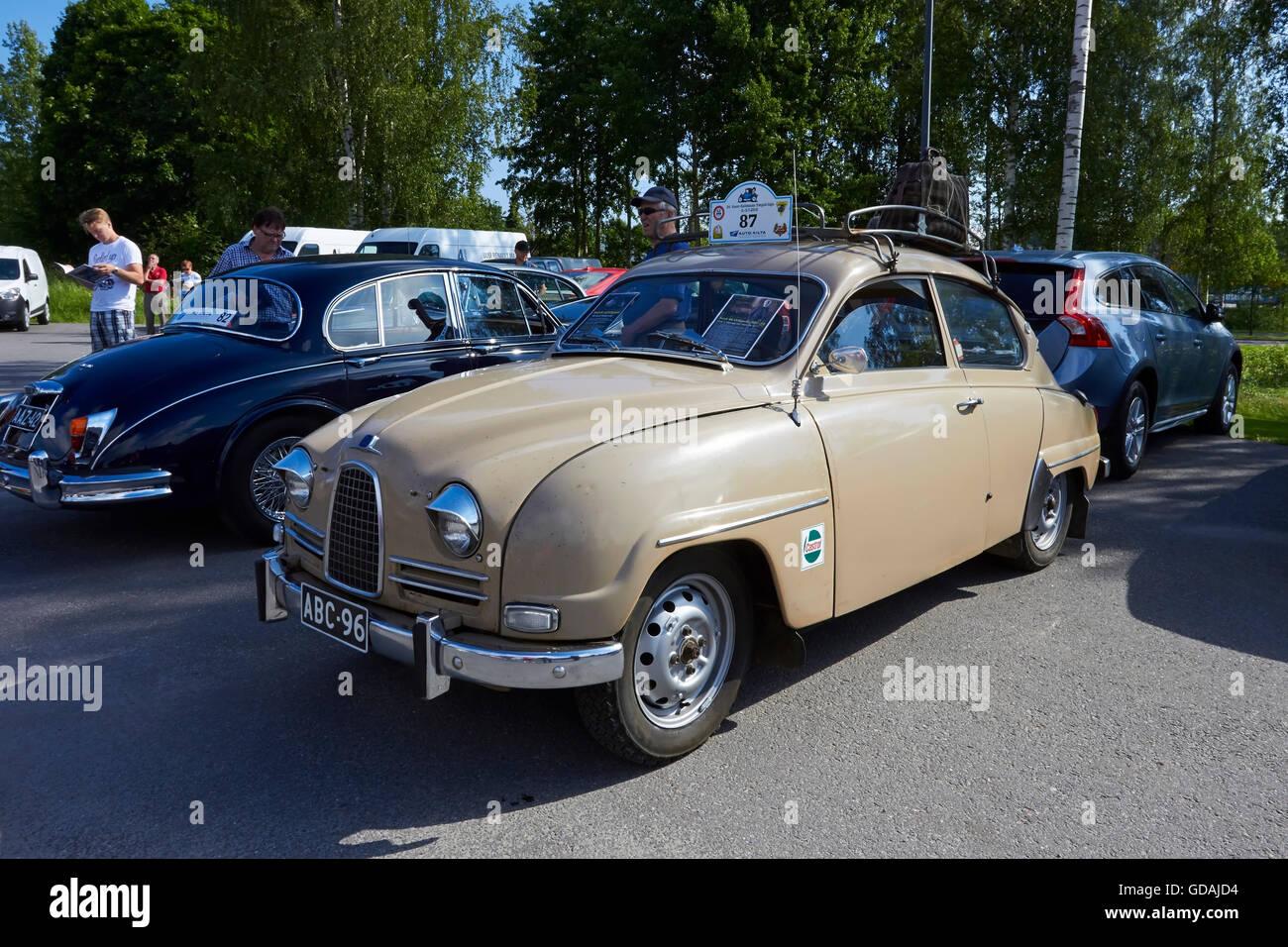 1962 Saab 96 - Stock Image