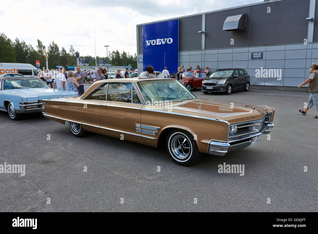 1966 Chrysler 300 2D HT - Stock Image