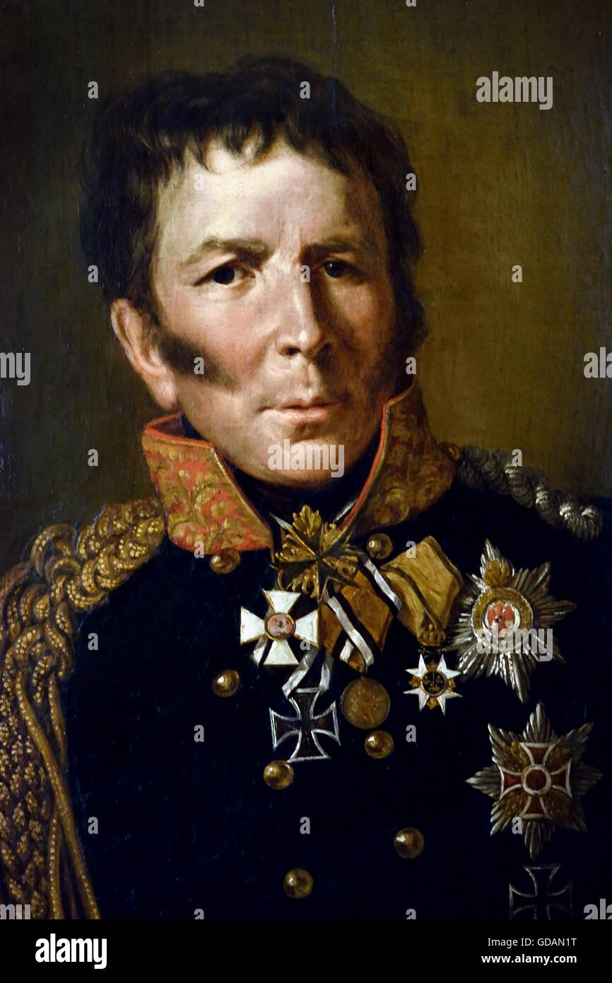 Lud wig Leopold Gottlieb Hermann von Boyen 1771 - 1848) was a field marshal in the Prussian army and Prussian minister - Stock Image