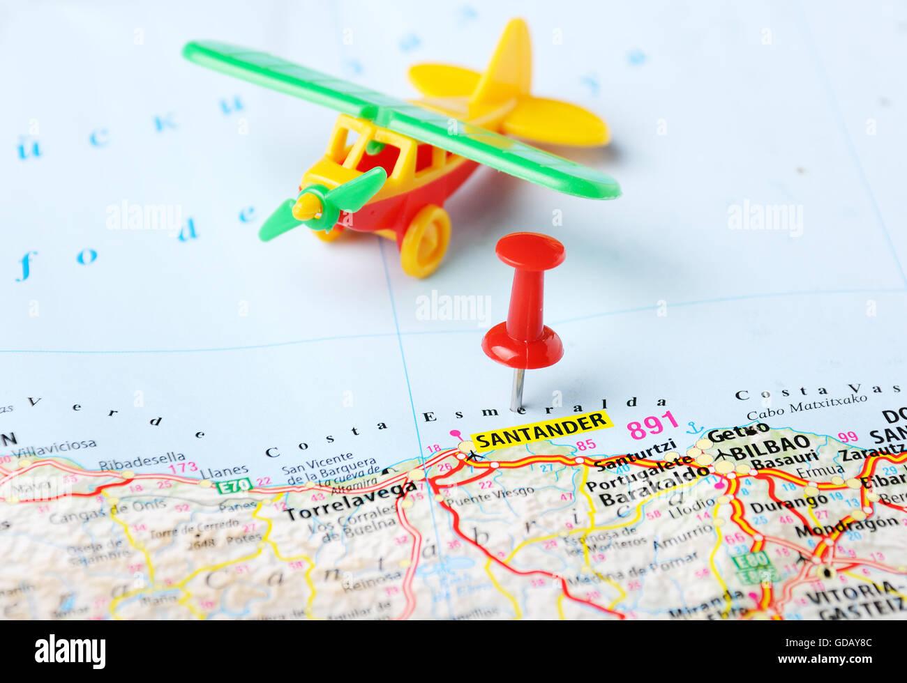 Costa Va Spain Map on