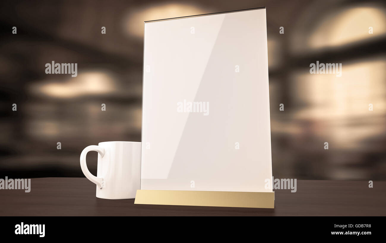 Stand For Booklets White Sheets Of Paper Acrylic Table Tent Card - Table tent card stock