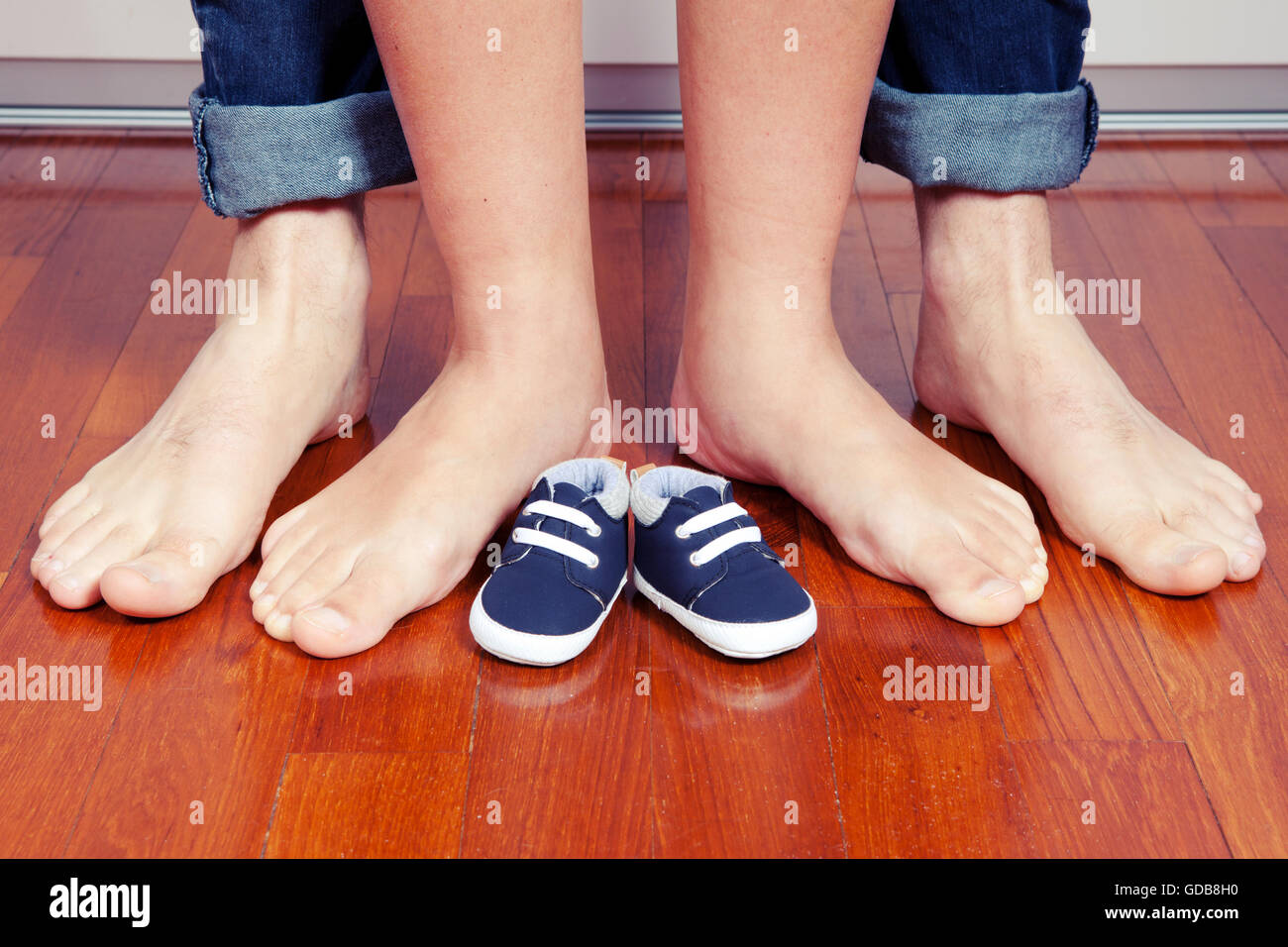 Growing family - Stock Image