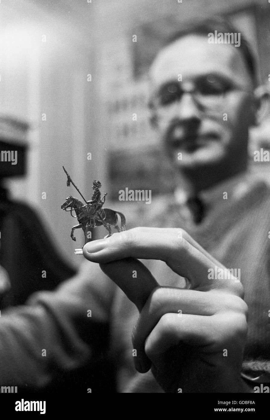 Tony Bath, an originator of fantasy wargaming - Stock Image