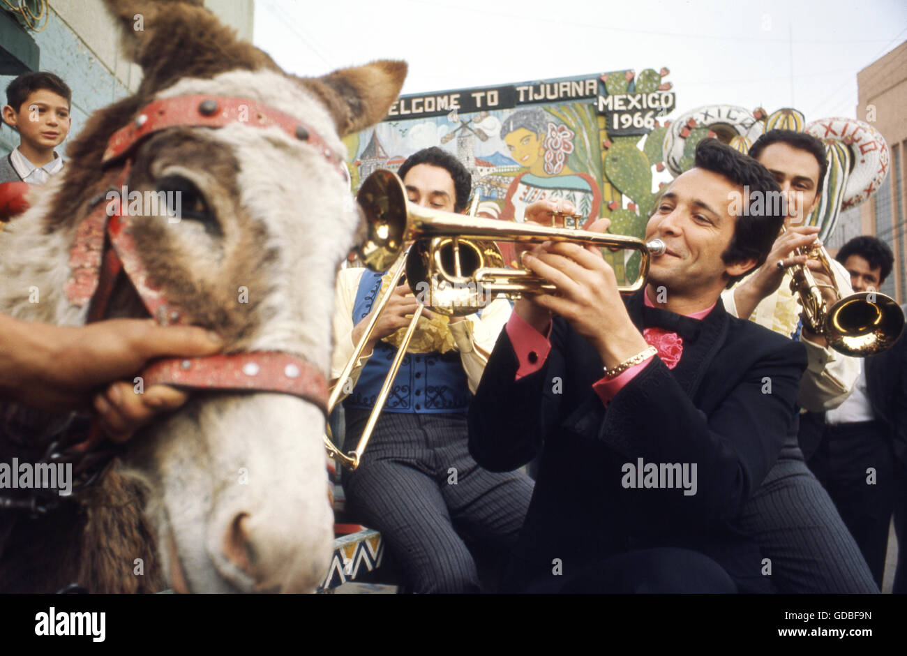 Herb Alpert and the Tijuana Brass - Stock Image