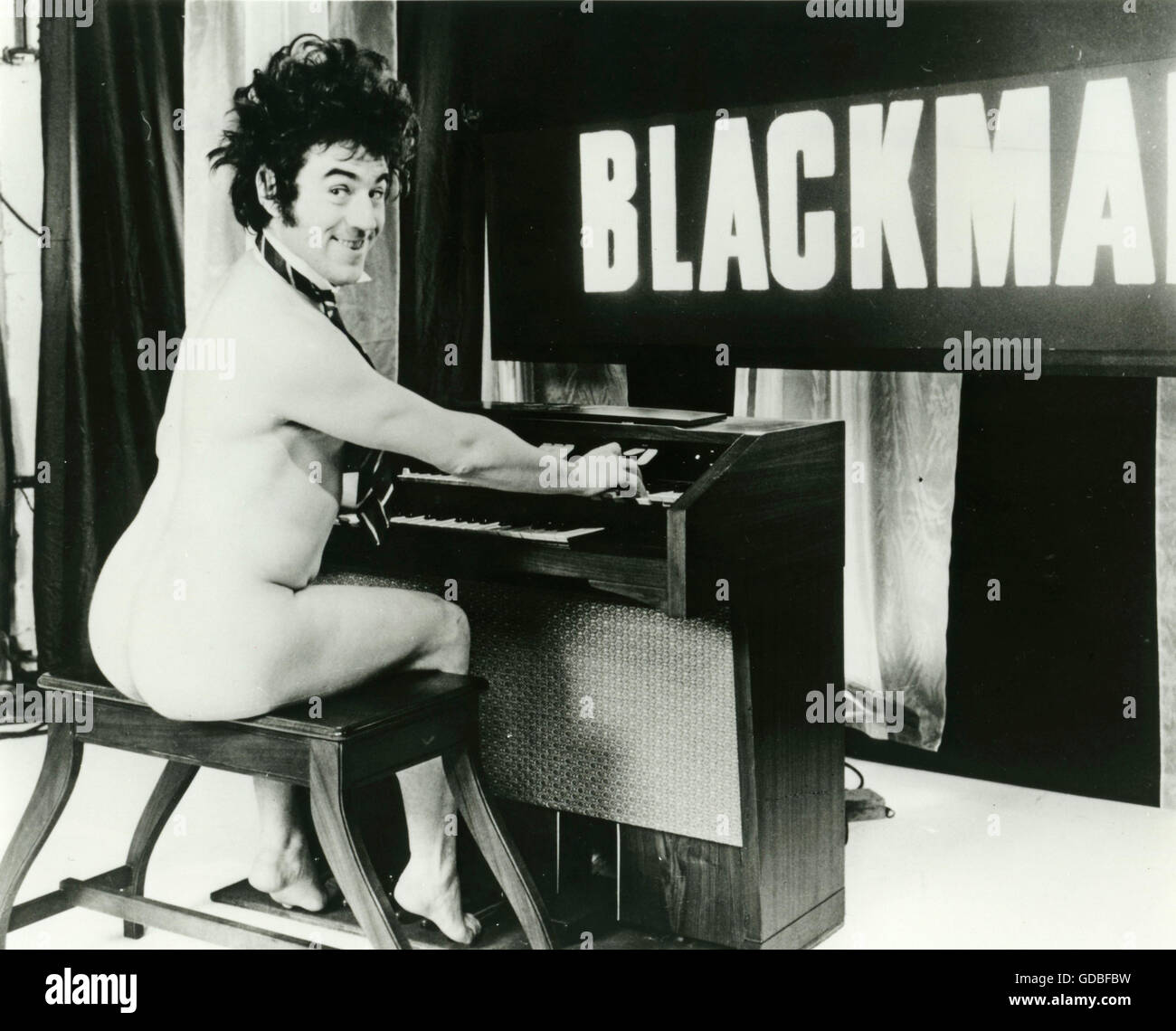 FILM And Now for Something Completely Different (1971, Ian MacNaughton) Blackmail: Terry Jones - Stock Image