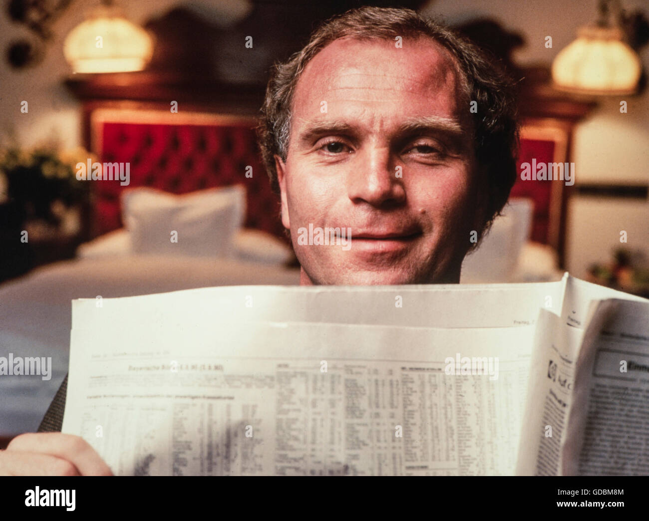 Hoeness, Ulrich 'Uli', * 5.1.1952, German athlete, football functionary and businessman, manager of the - Stock Image