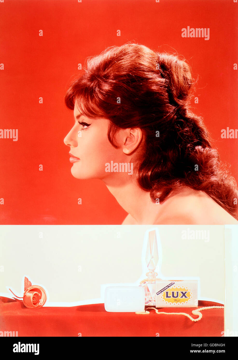 Mell, Marisa, 24.2.1939 - 16.5.1992,Austrian actress, portrait, promotional photograph for , Additional-Rights-Clearances - Stock Image