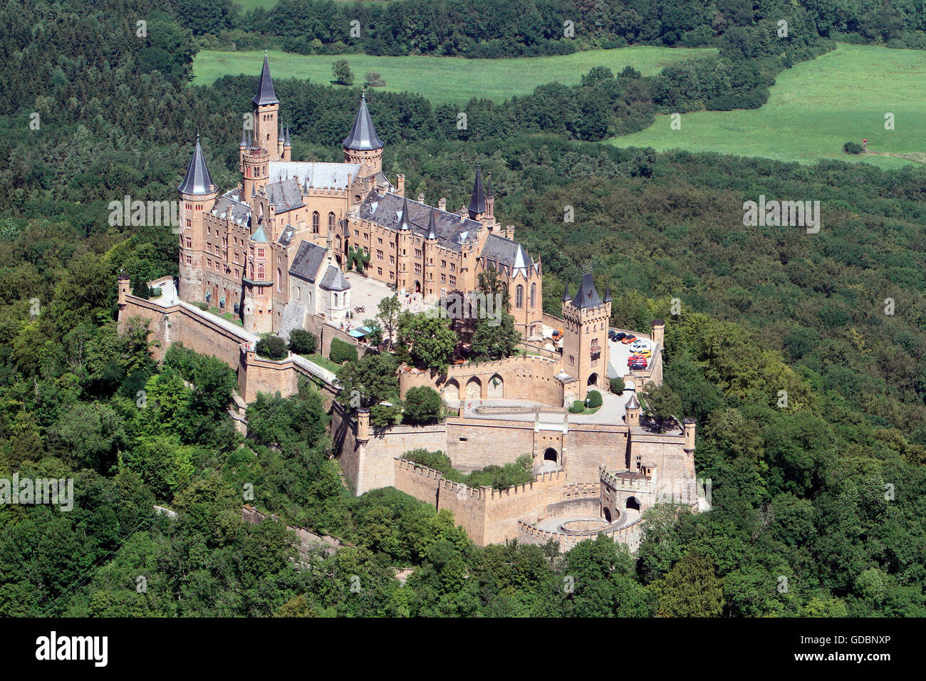 Castle Hohenzollern Hechingen Baden Wurttemberg Germany