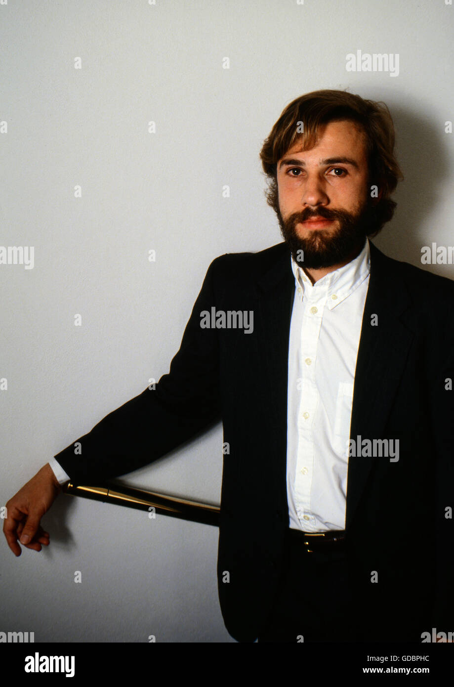Waltz, Christoph, * 4.10.1956, Austrian actor, half length, photo taken during the making of the TV movie 'A - Stock Image