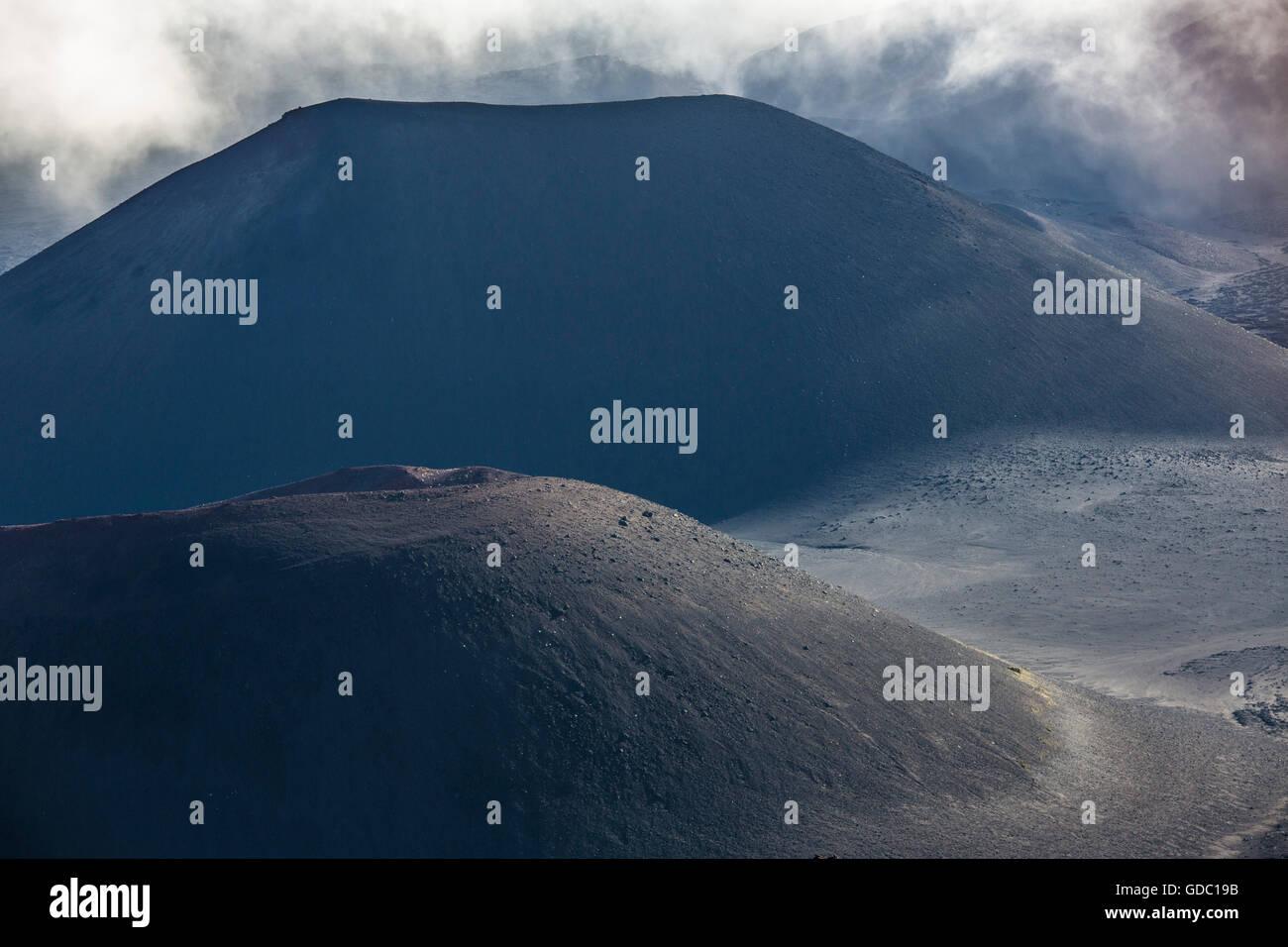Maui,Haleakala,crater,Maui,USA,Hawaii,America,Volcano, - Stock Image