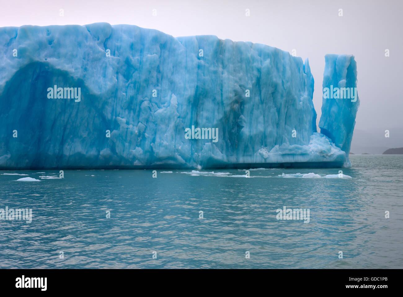 iceberg,Argentina,Patagonia - Stock Image