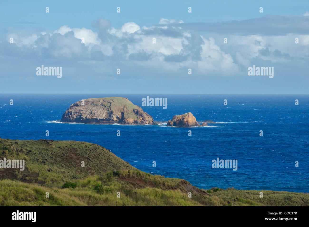 USA,Hawaii,Molokai,soutside of the island Stock Photo