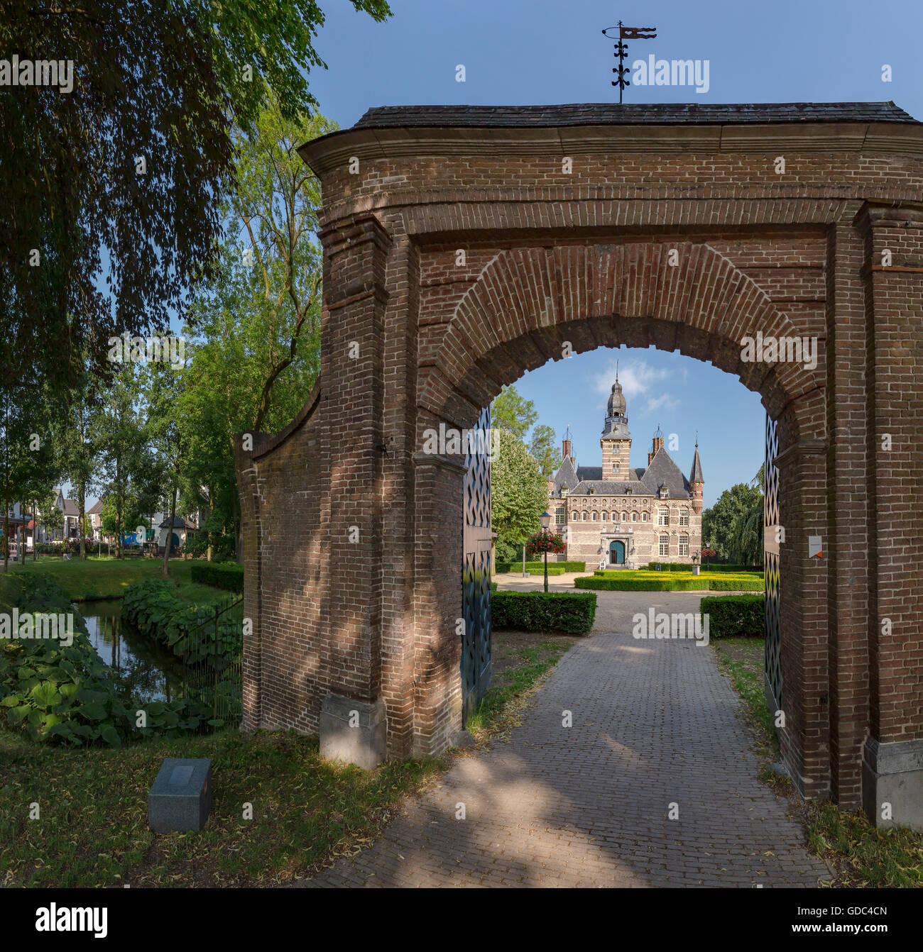 Wijchen,Gelderland,Museum,entrance Stock Photo