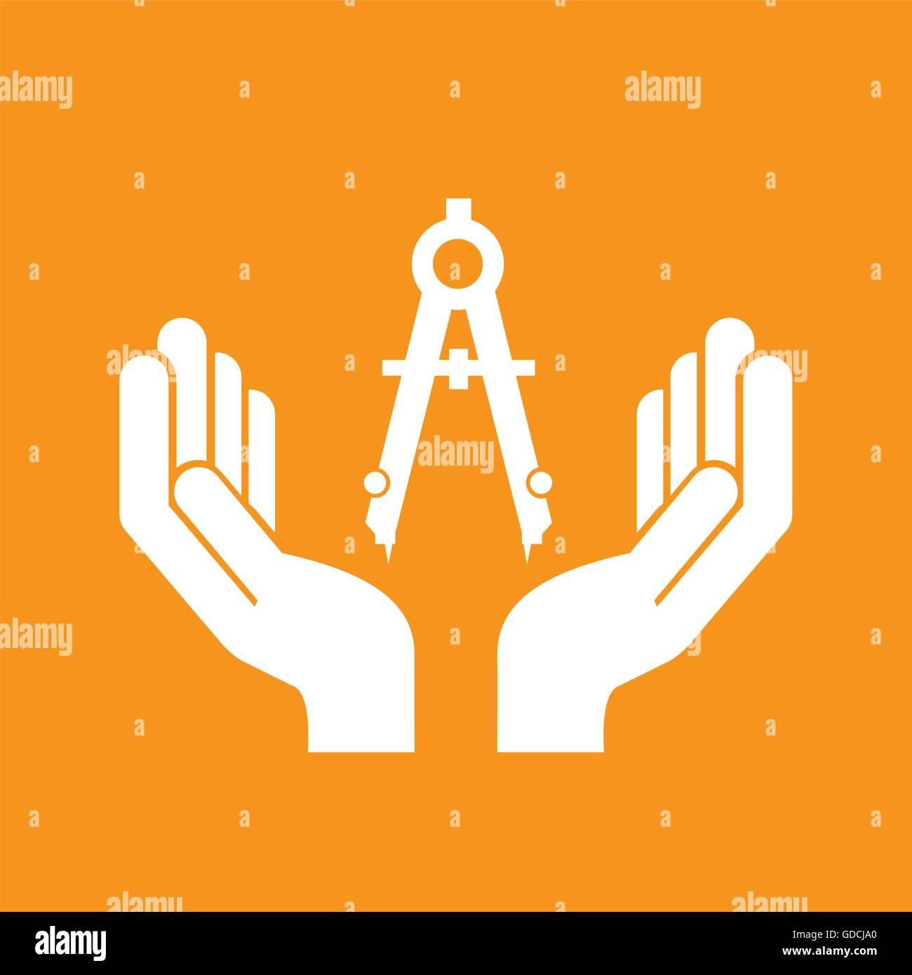 Civil Engineering Icon Stock Vector Art Illustration Vector Image