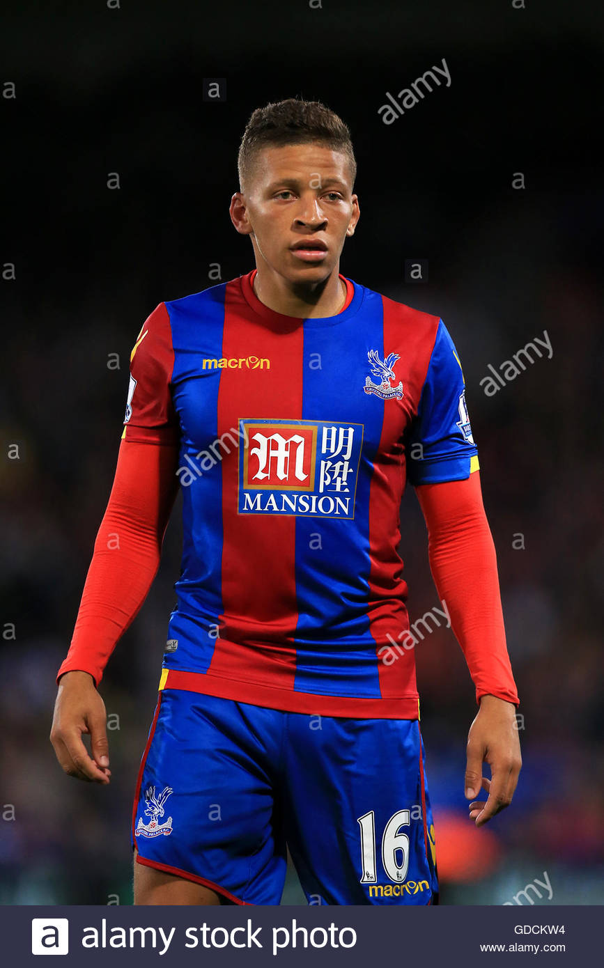 File photo dated 25-08-2015 of Dwight Gayle, Crystal Palace - Stock Image
