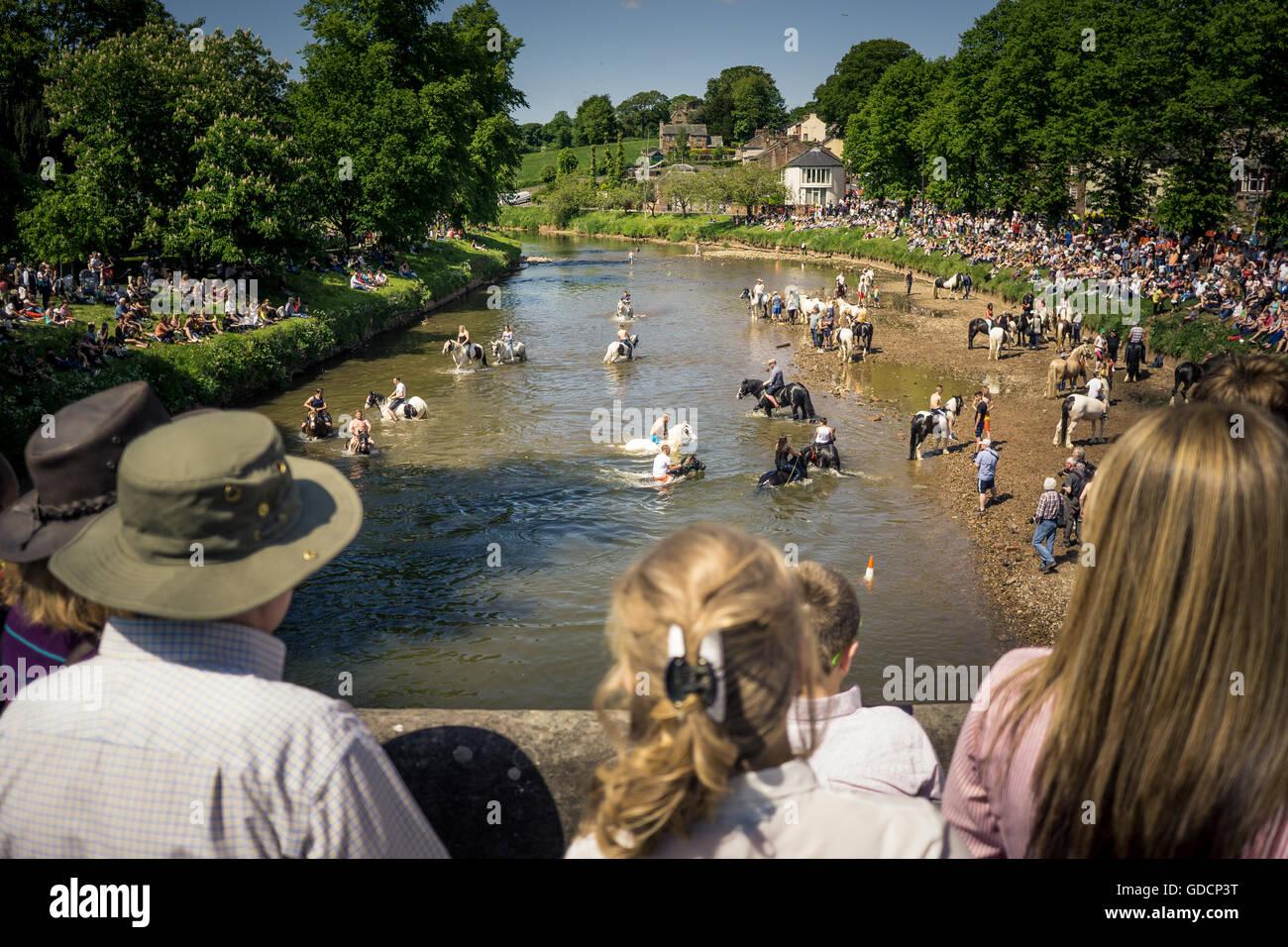 Appleby Horse Fair in Cumbria - Stock Image