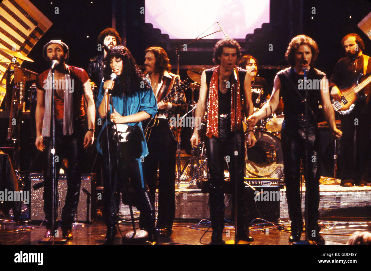 Donna Summer and Brooklyn Dreams performs on