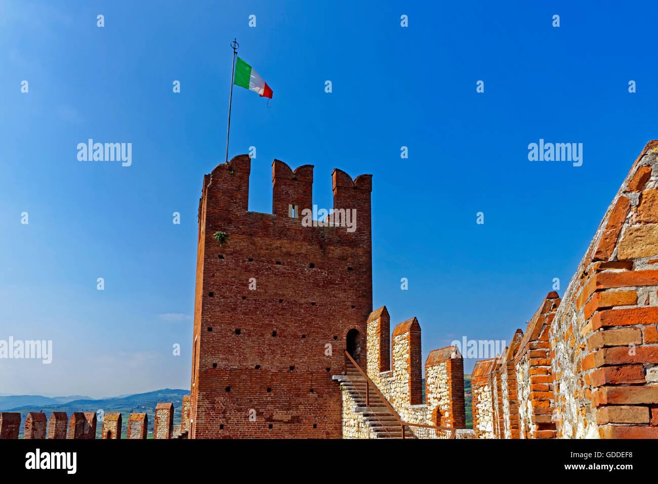 Scalierburg,Castello Medievale Stock Photo