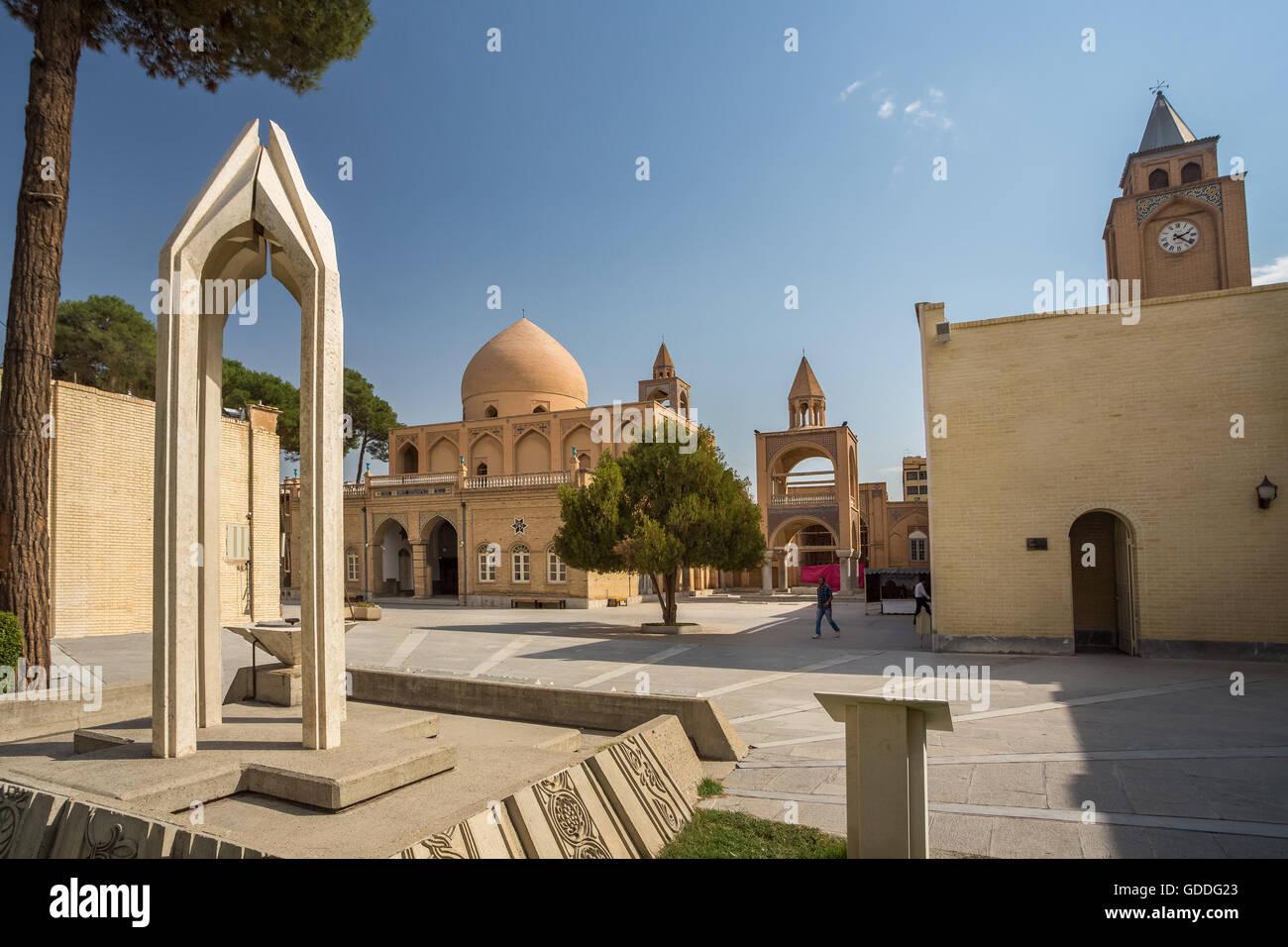 Iran,Esfahan City,Jolfa,Armenian Quarter,Vank Cathedral, - Stock Image