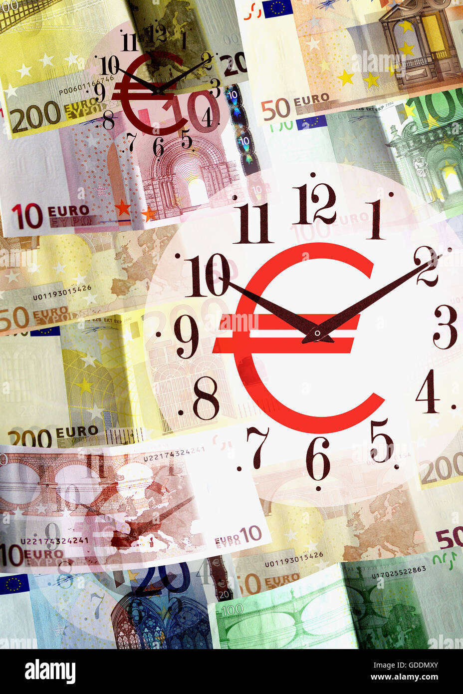 Time is Money, Symbolic Image - Stock Image