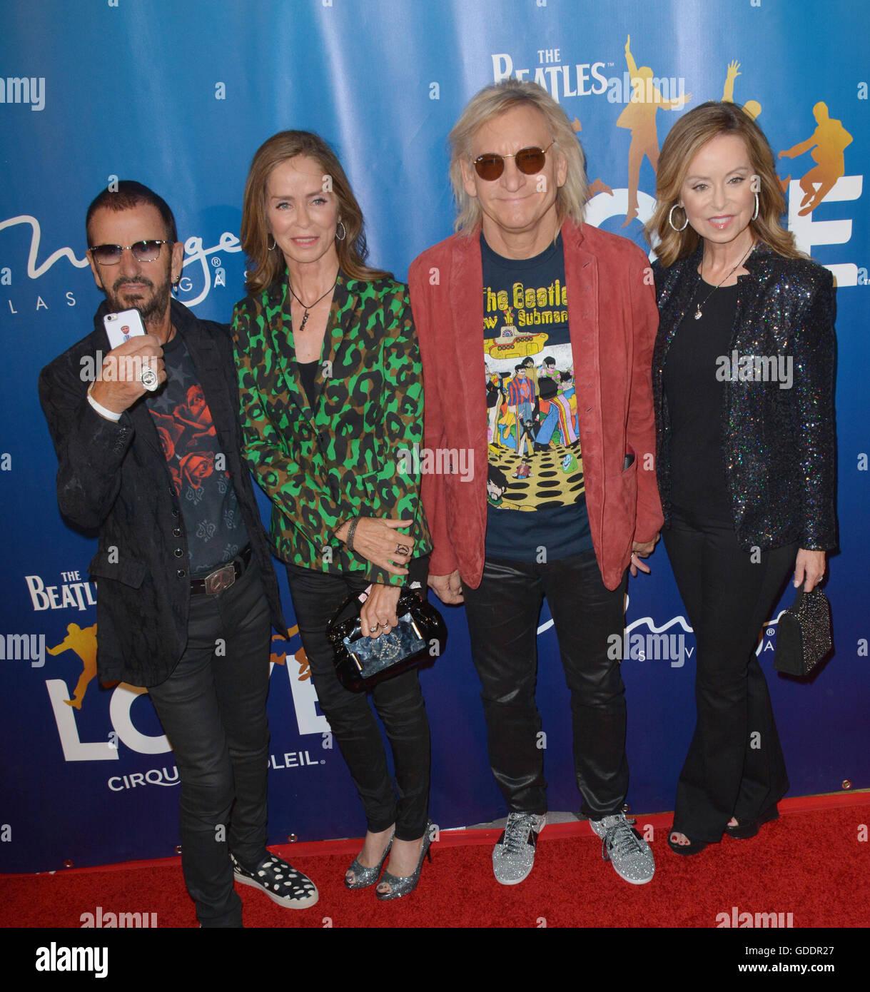 Las Vegas, Nevada, USA. 14th July, 2016. Musician Ringo ...