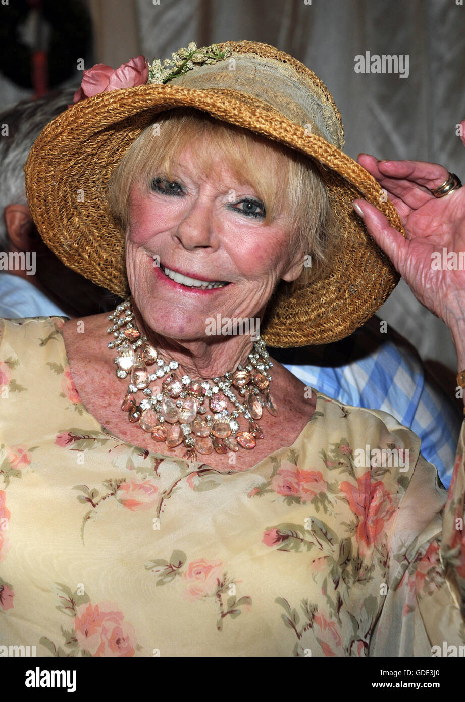 Bad Griesbach Germany 15th July 2017 Actress Elke Sommer Stock