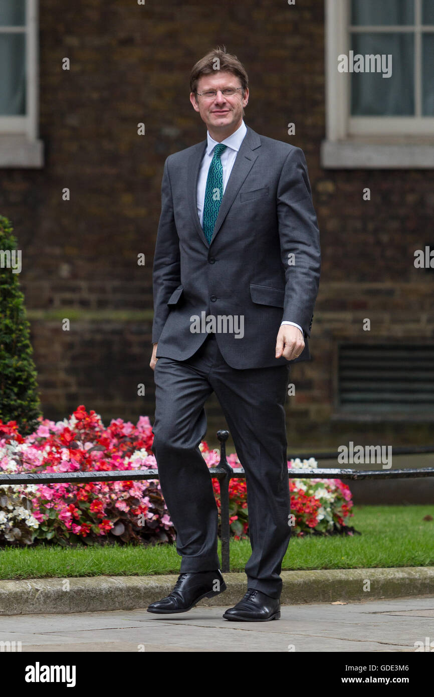 Secretary of State for Business, Energy and Industrial Strategy, Greg Clark arrives in Downing Street - Stock Image