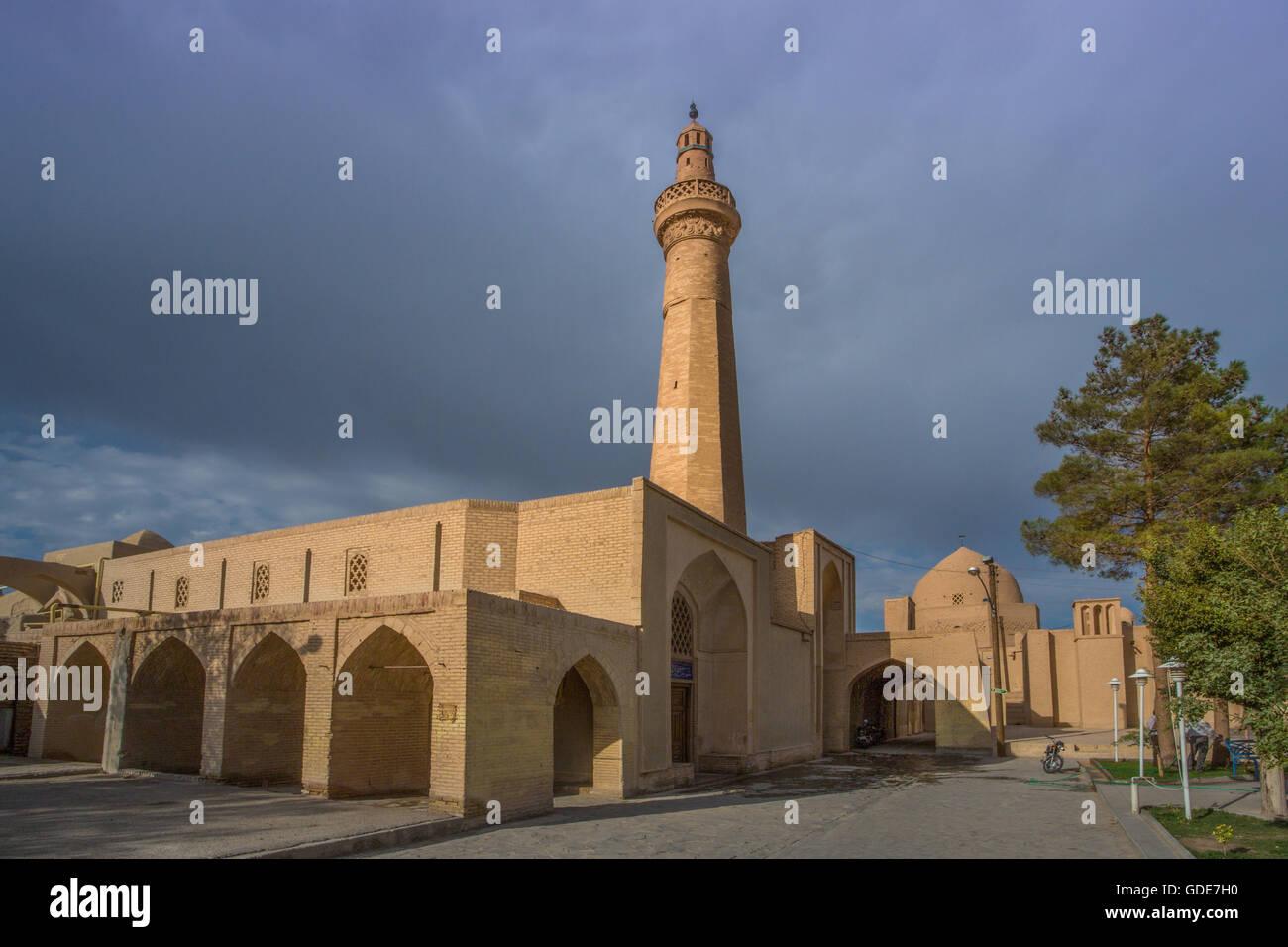 Iran,Naein City,Jami Masjid Mosque,10th century. Stock Photo