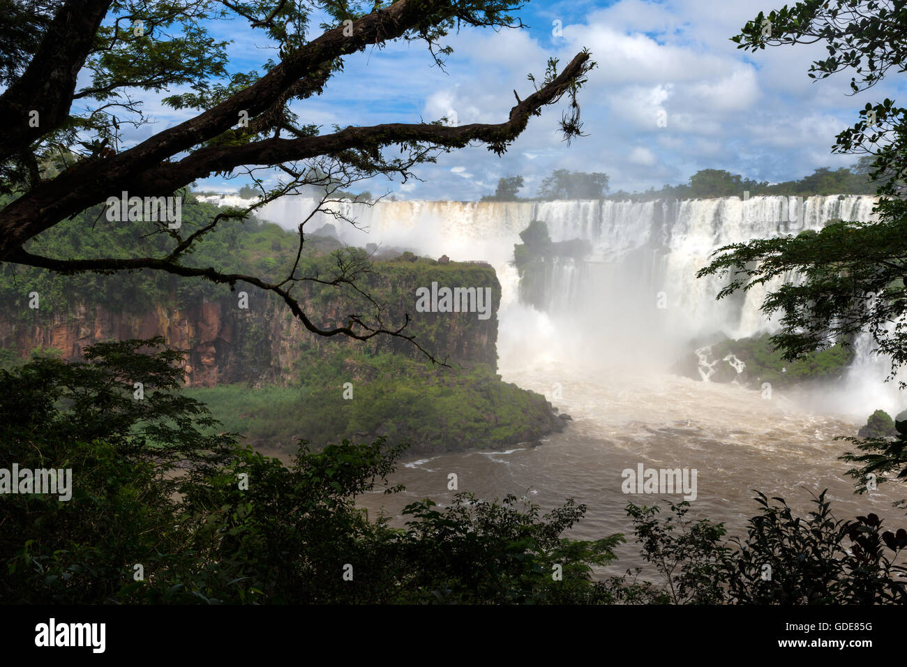 Iguazu falls,Argentina Stock Photo