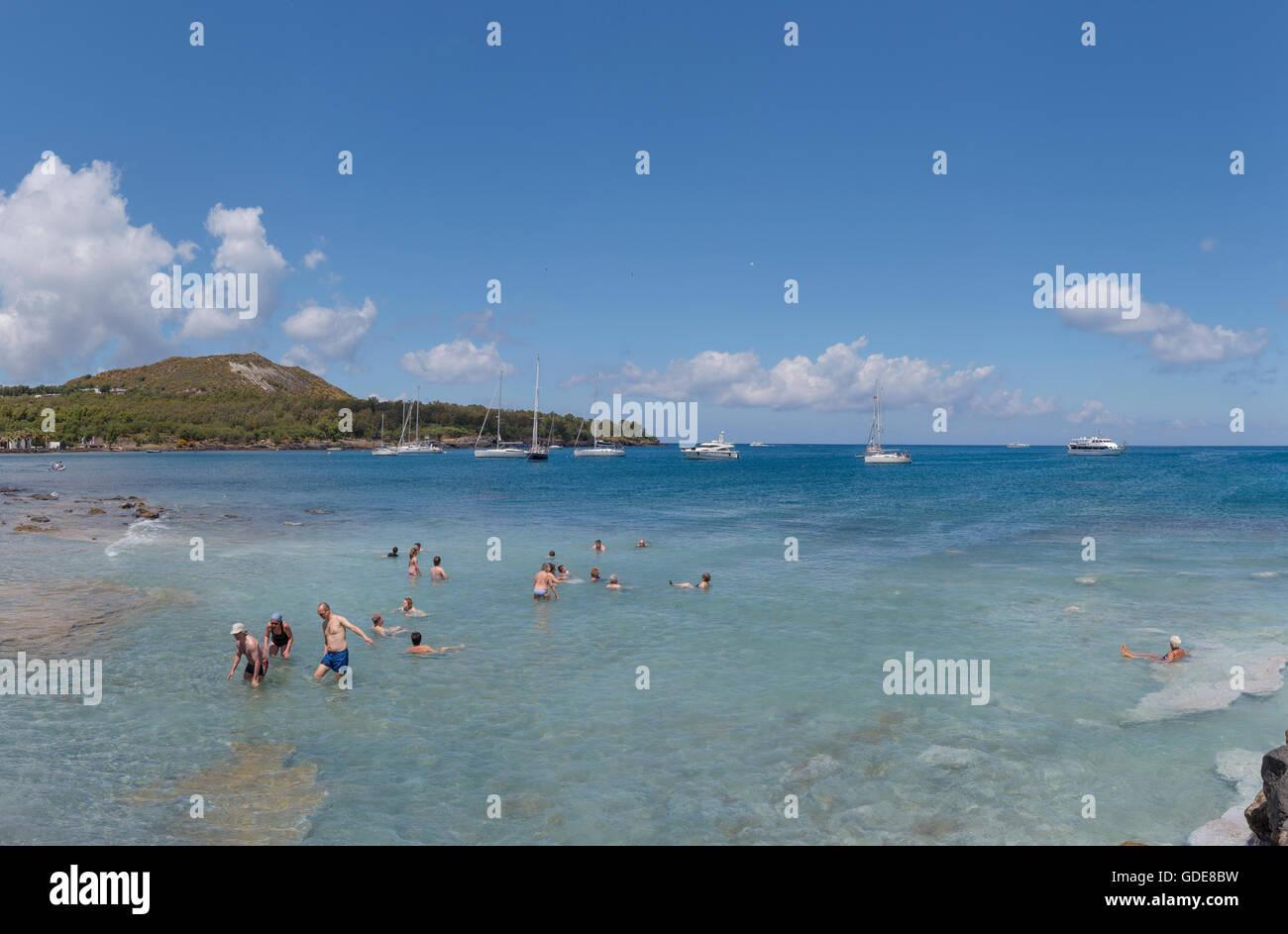 Tyrrhenian Sea - Stock Image