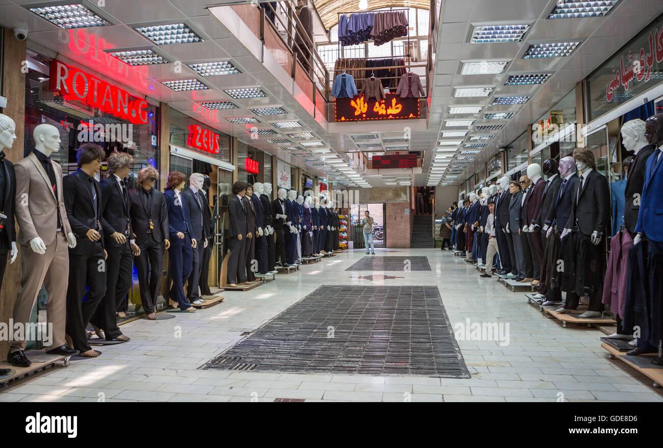 Iran,Teheran City,Shopping Mall - Stock Image