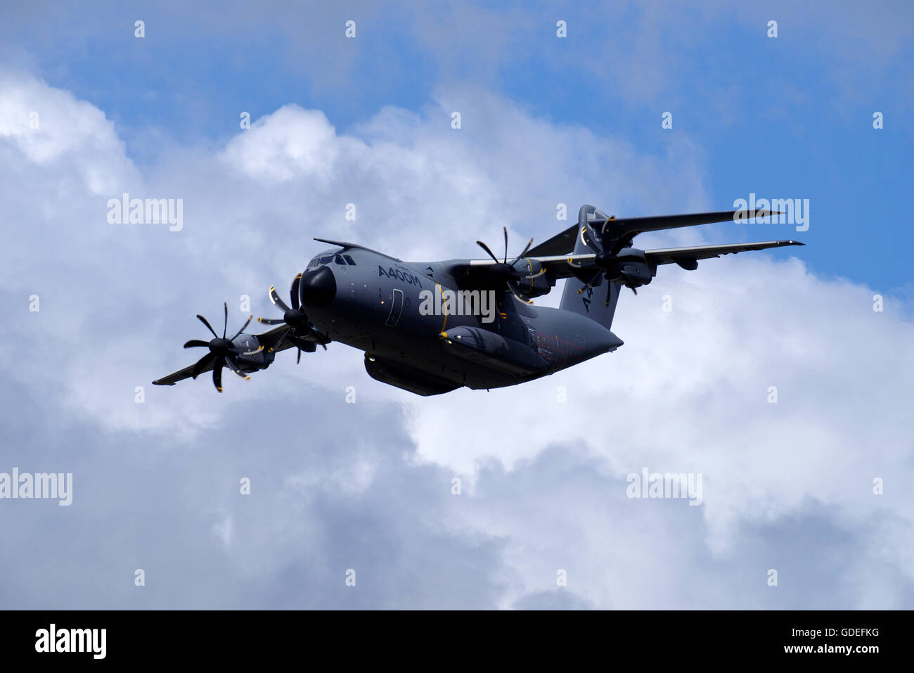Airbus A400m at RIAT, RAF Fairford - Stock Image