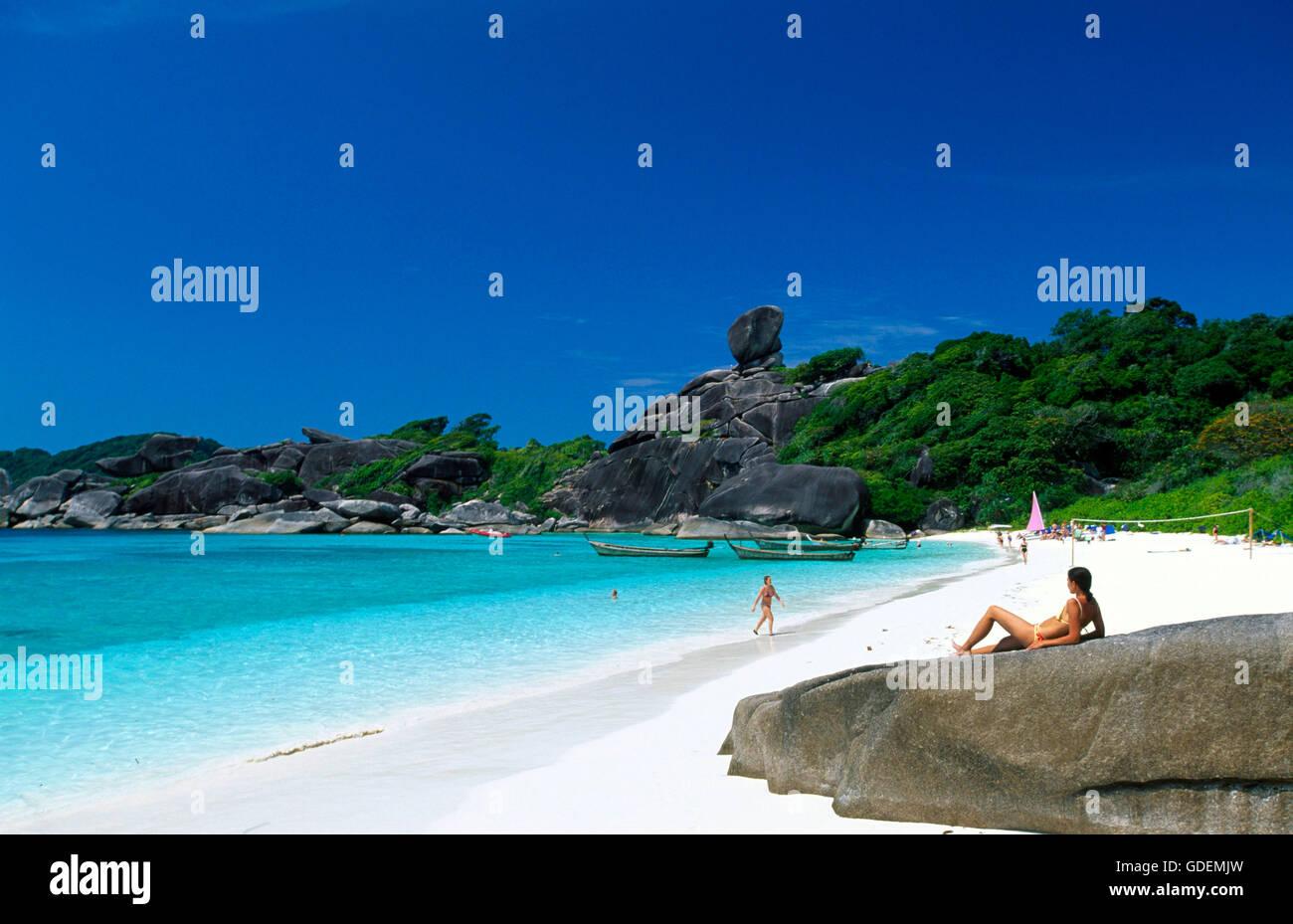 Ko Similan, Phuket, Thailand - Stock Image