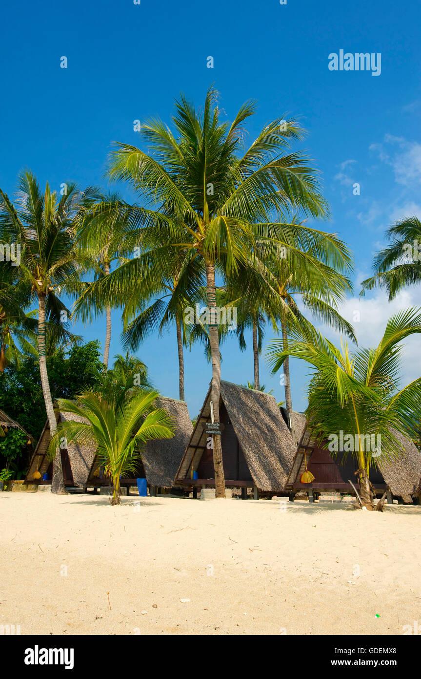 Lamai Beach, Ko Samui Island, Thailand - Stock Image