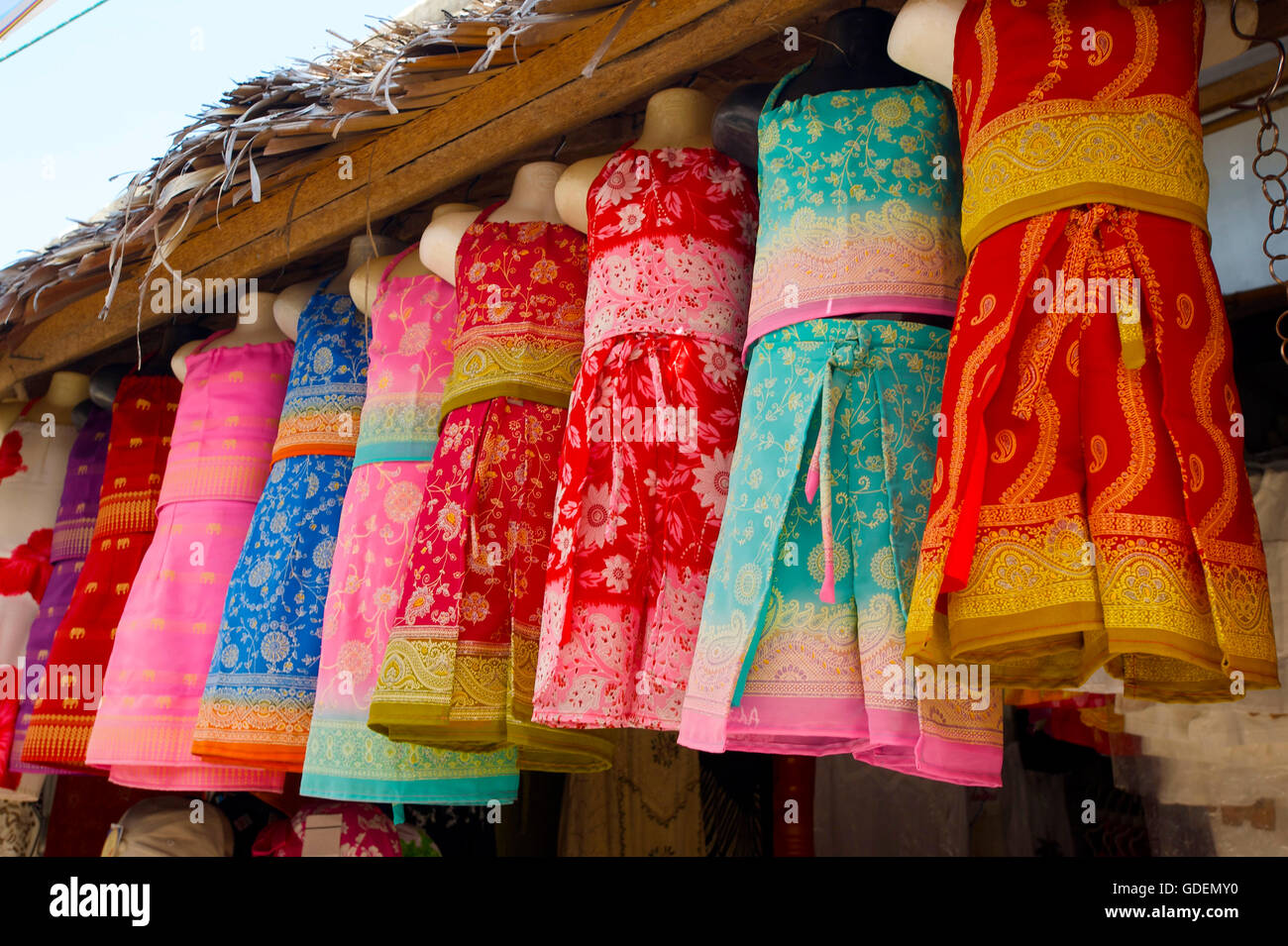Shop at Lamai Beach, Ko Samui Island, Thailand - Stock Image