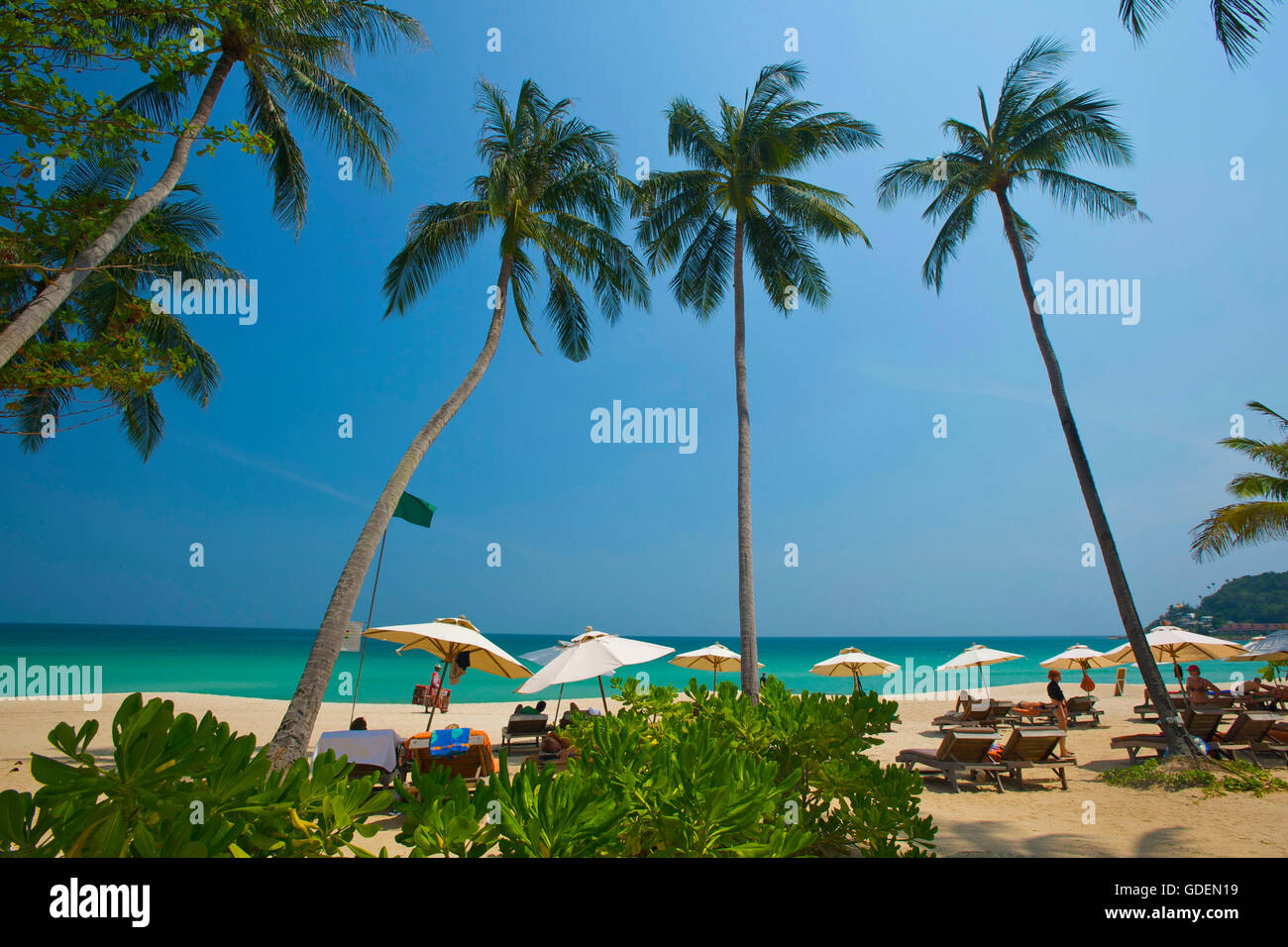 Chaweng Beach, Ko Samui Island, Thailand - Stock Image