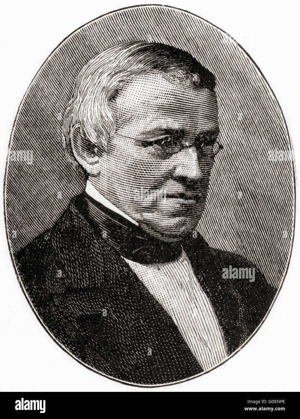 Sir Charles Wheatstone, 1802 – 1875.  English scientist and inventor. Stock Photo