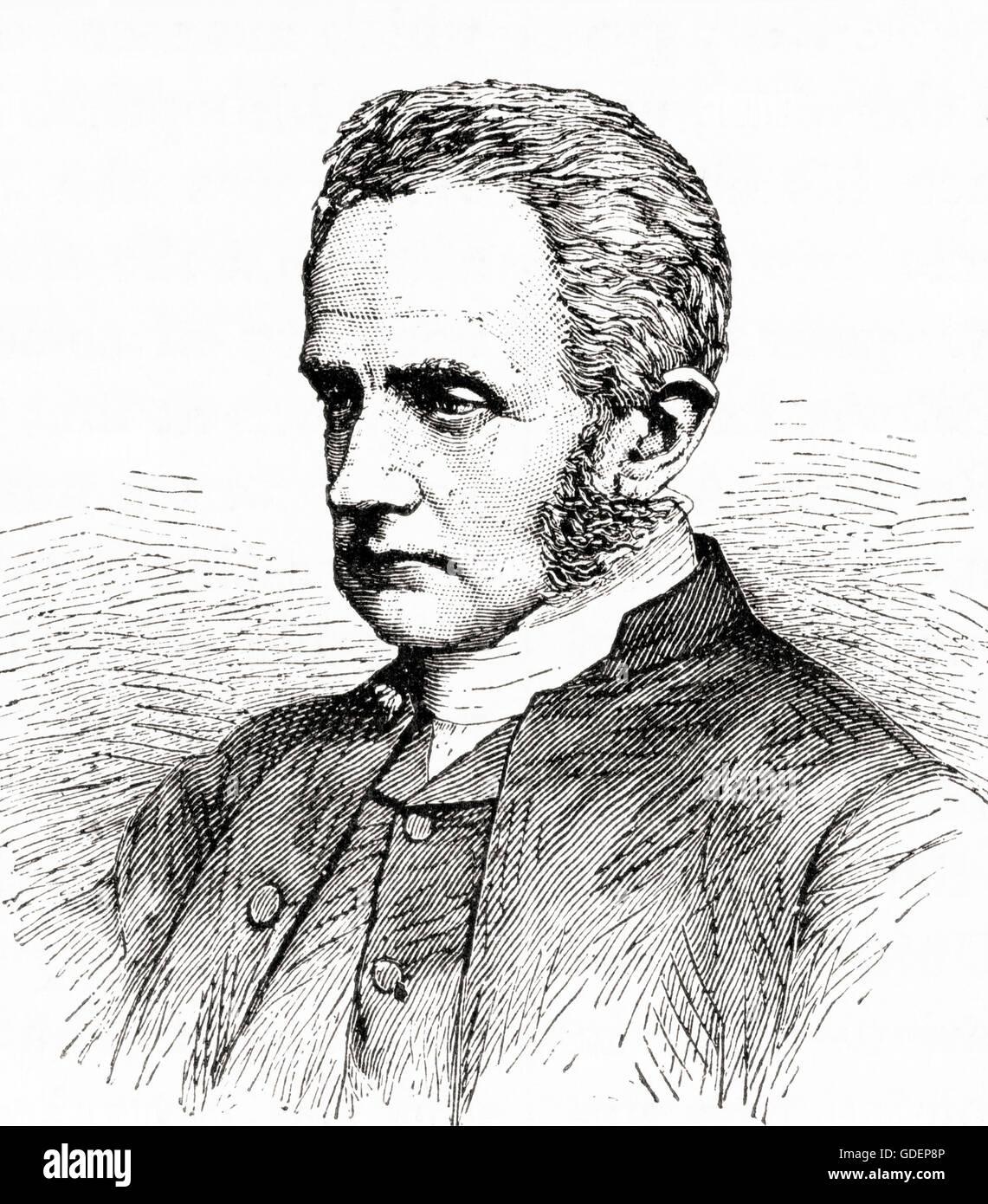 Arthur Penrhyn Stanley,  1815 – 1881.   English churchman, Dean of Westminster, known as Dean Stanley. - Stock Image