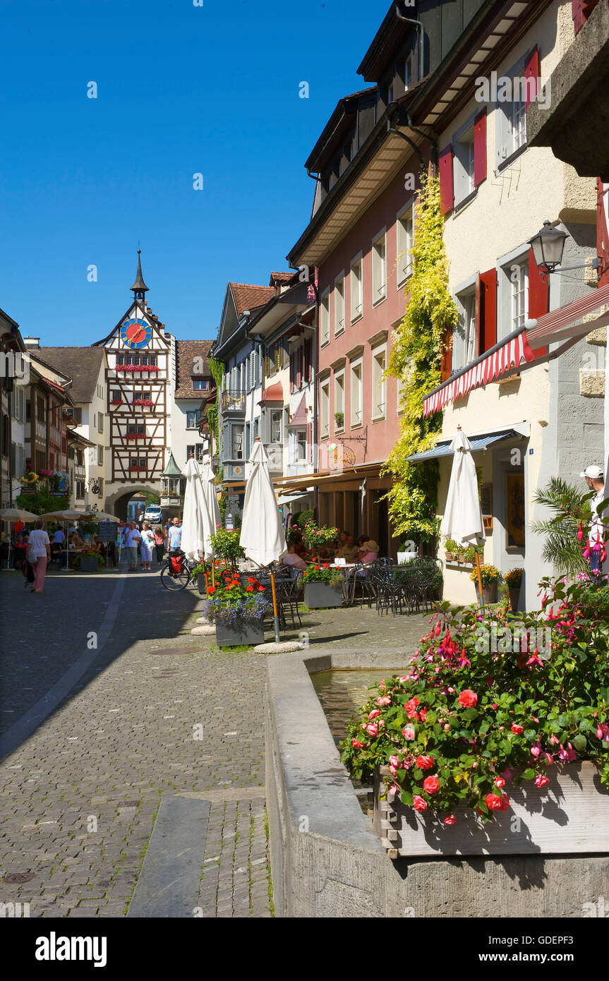 Stein am Rhein, Lake Constance, Switzerland - Stock Image