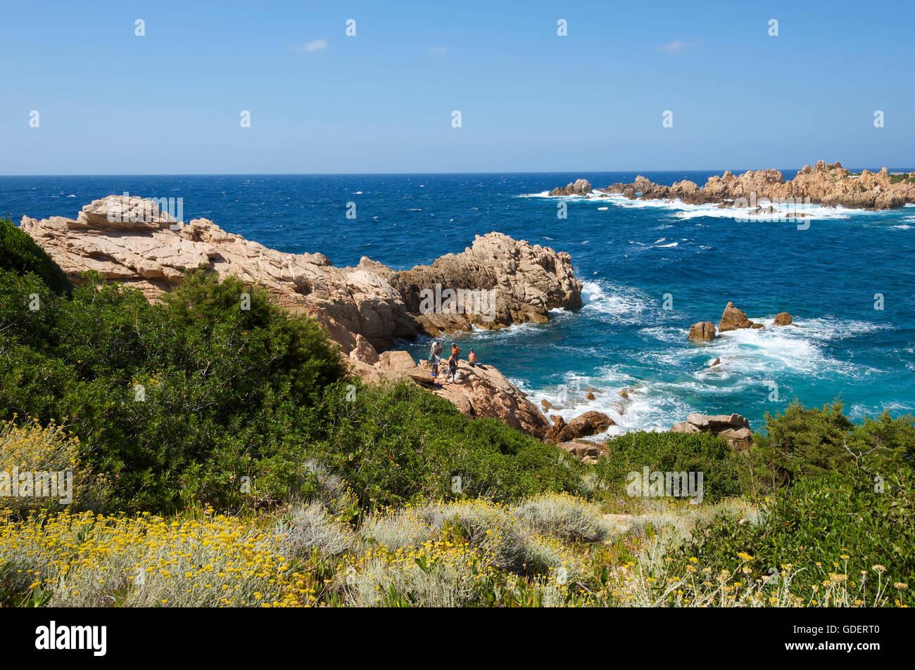 Capo Testa near Santa Teresa Gallura, Sardinia, Italy Stock Photo