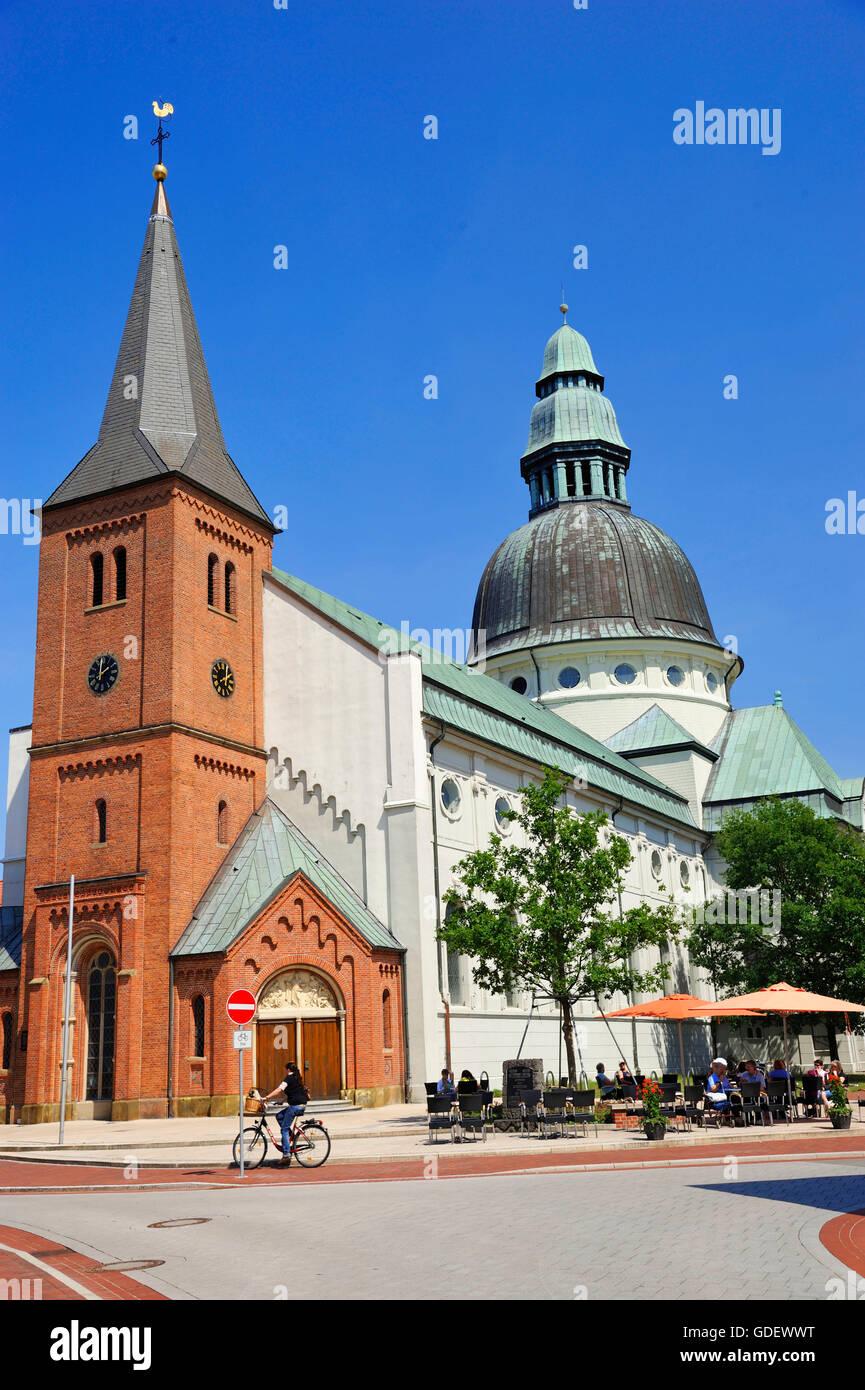Martinus Church, Haren, Lower Saxony, Germany - Stock Image