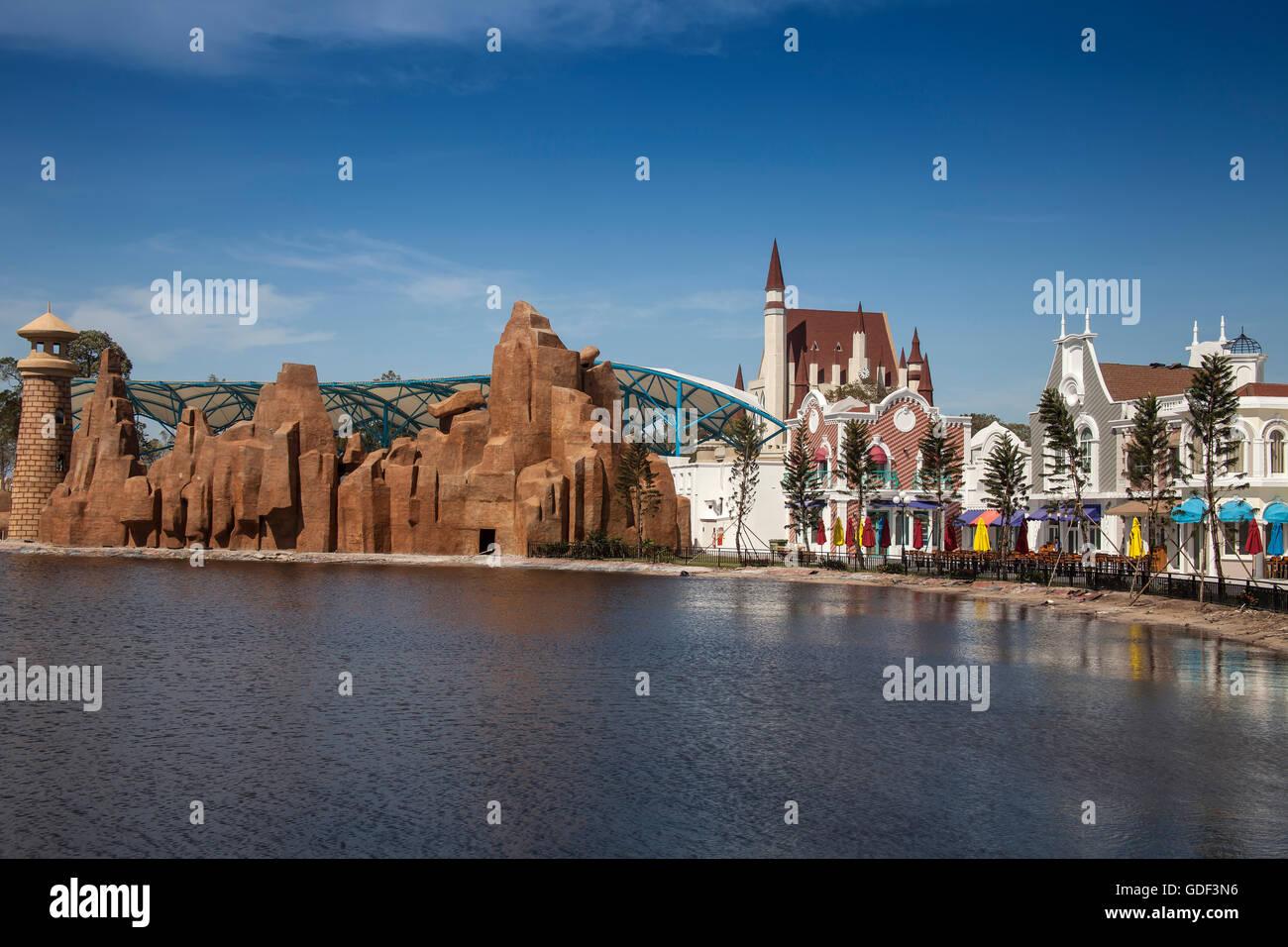 Vinpearl Amusement Park Phu Quoc Phu Quoc Island, Vietnam - Stock Image