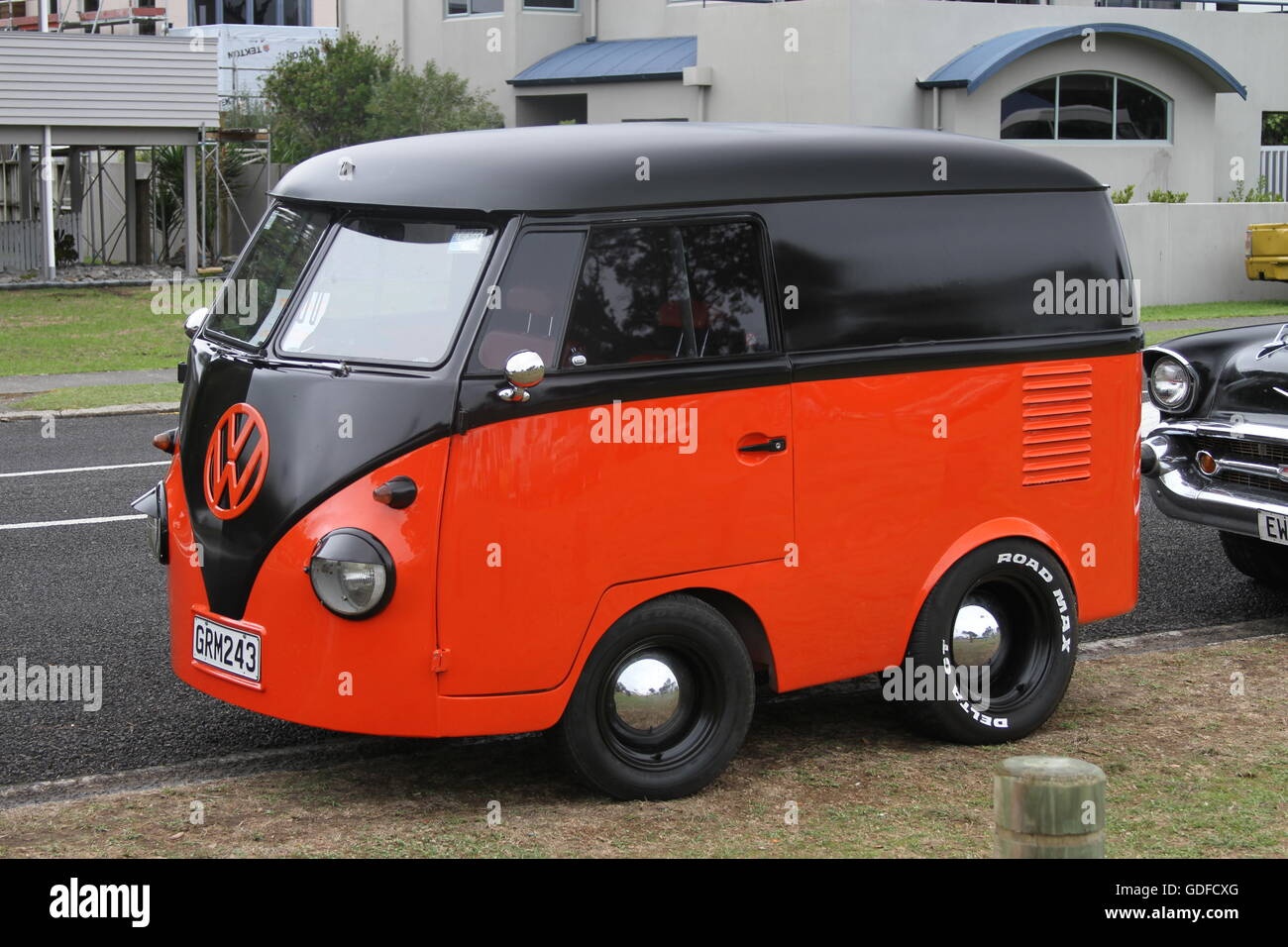 VW van chopped and made smaller - Stock Image