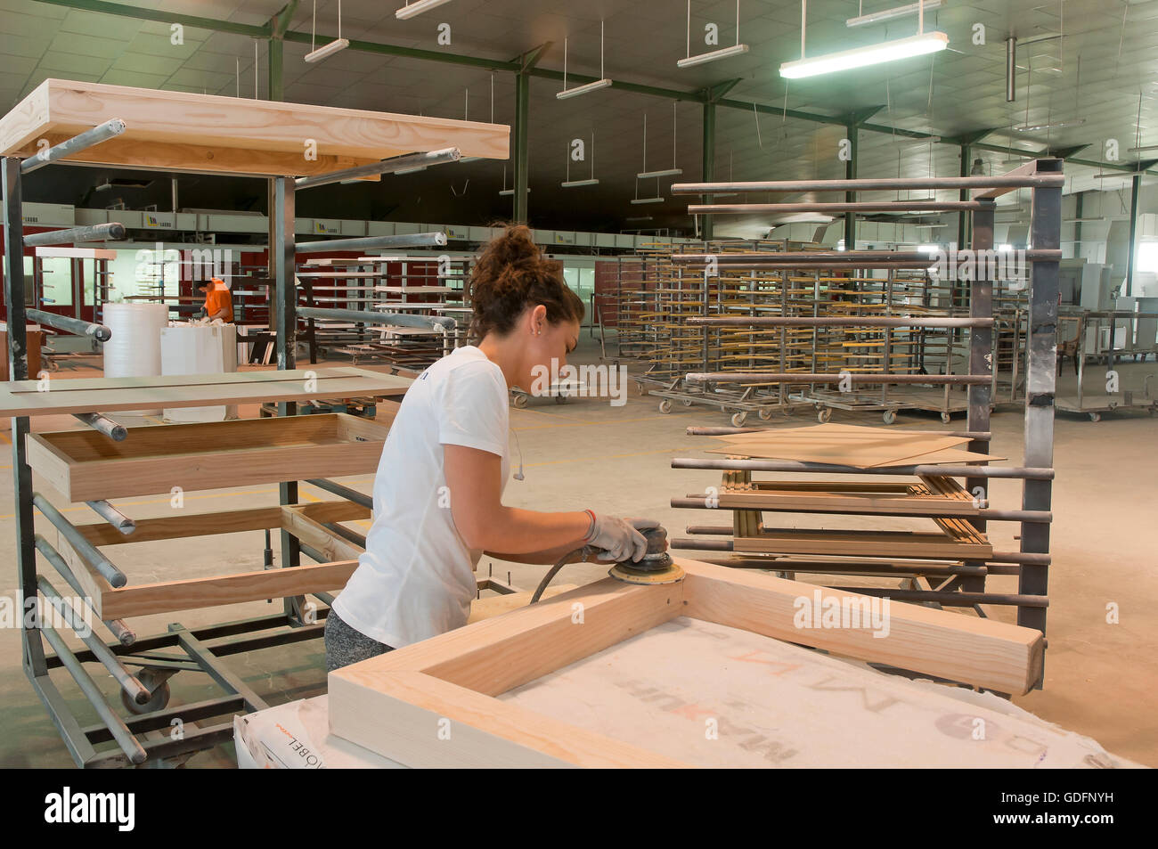 Merveilleux Furniture Factory, Lucena, Cordoba Province, Region Of Andalusia, Spain,  Europe