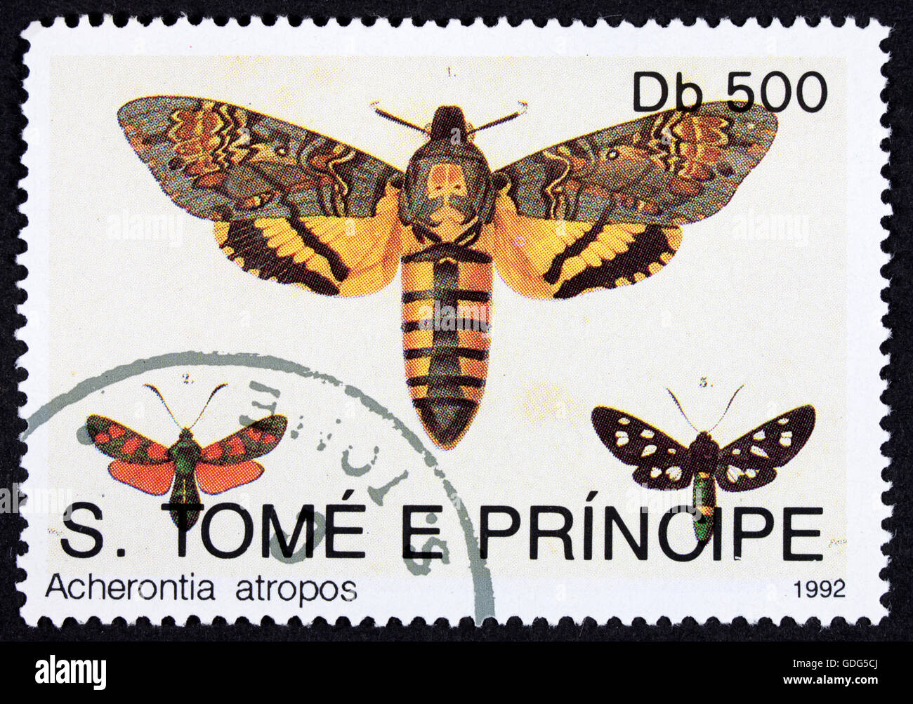 Butterfly Stamp Insect Stock Photos