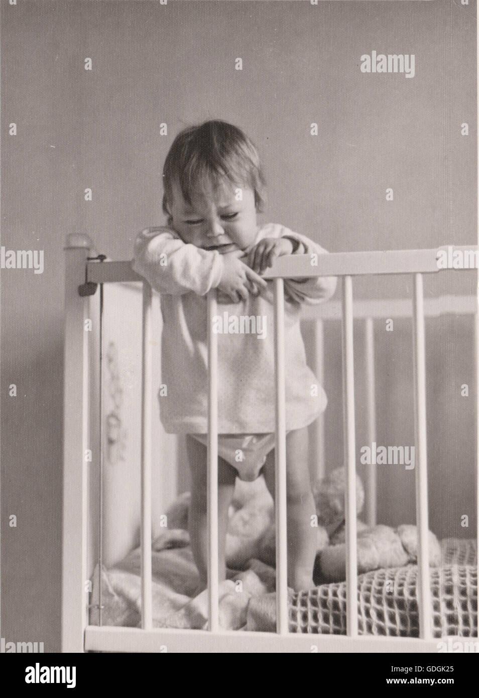 1950s Baby Black And White Stock Photos Amp 1950s Baby Black