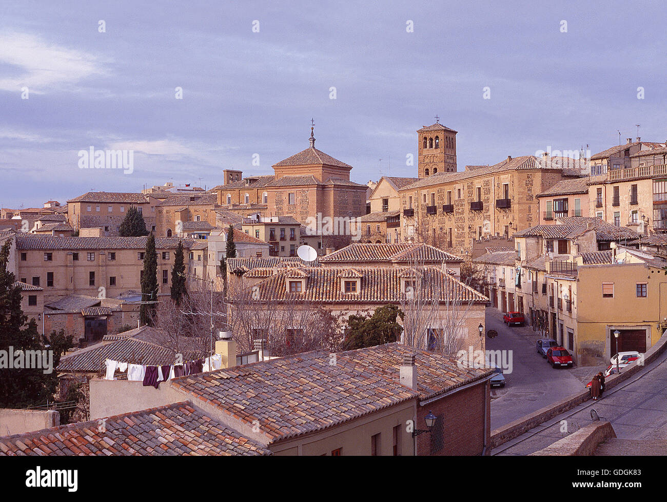 View of the town. Toledo, Spain. - Stock Image