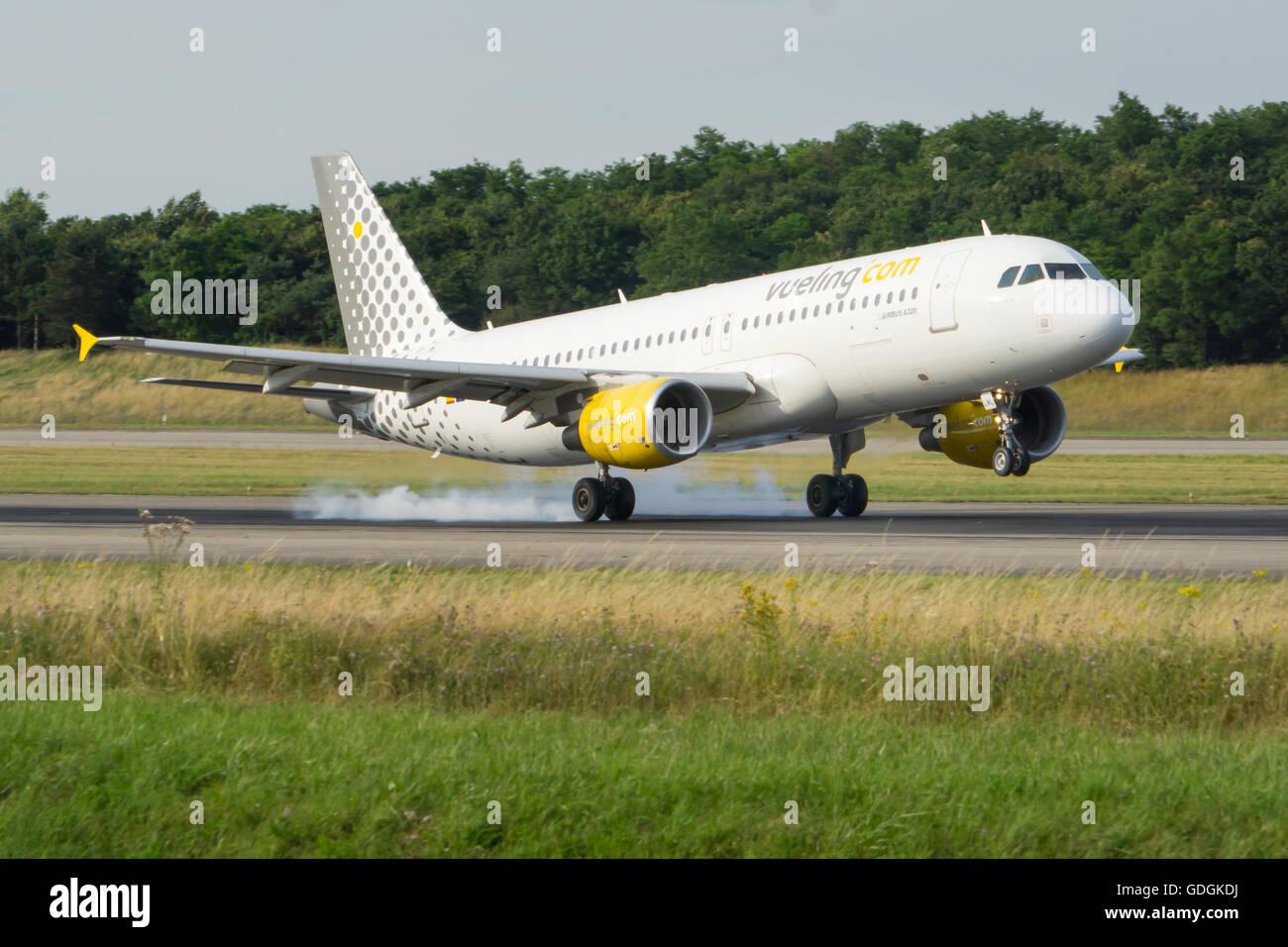 Vueling, Airbus, Basel, Euroairport - Stock Image