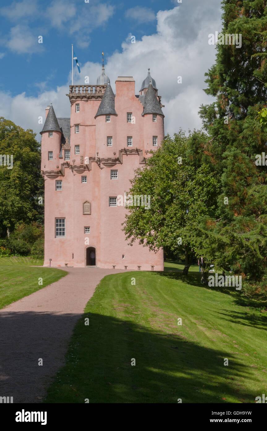 16 26 Craigievar Castle nr Alford Aberdeenshire Scotland - Stock Image
