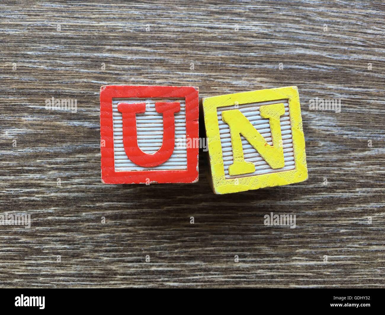 Un Abbreviation United Nations Stock Photos Un Abbreviation United